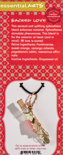 Sacred Love Diffuser Necklace